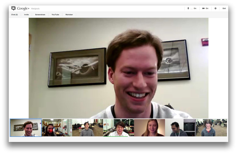 Google Plus Hangouts (20120111_01)