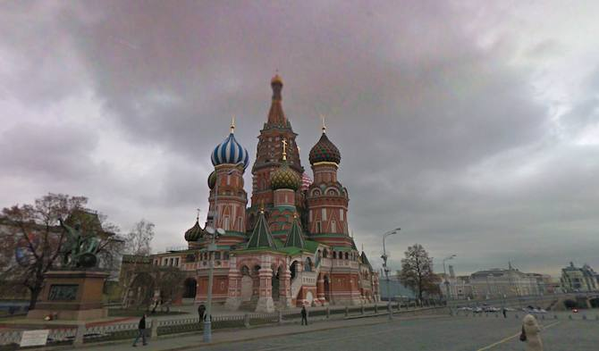 Gorgeous Street View Of Russia Goes Live In Google Maps Enhanced