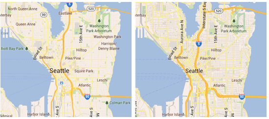 Google Maps for Android updated with high-res map tiles, new ...