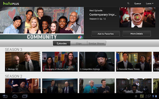 Hulu Plus' app now available on 7 Android tablets, flaunts new UI