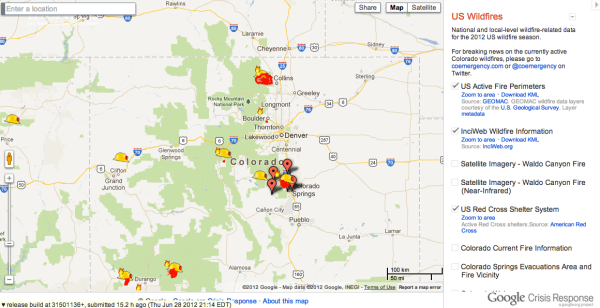 Google Crisis Response team launches new crisis map for raging US