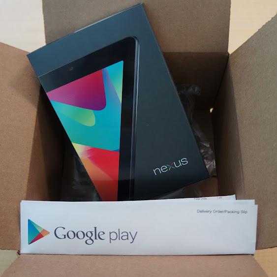 Nexus 7 Ships