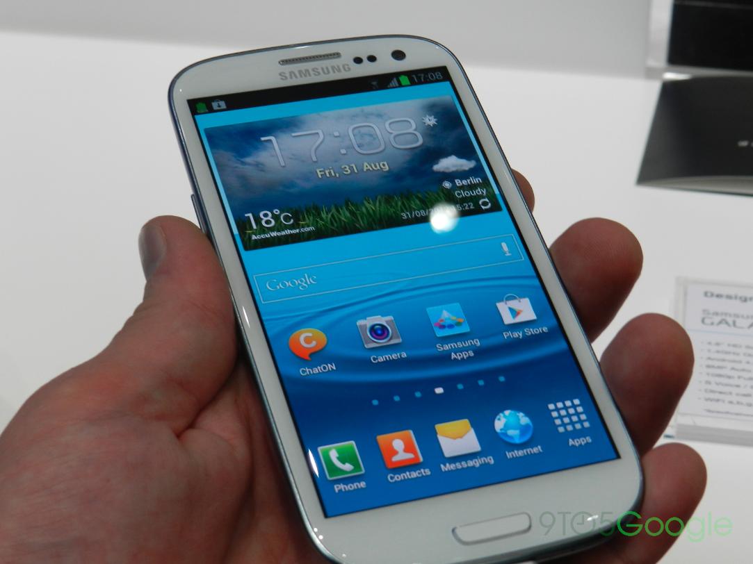Galaxy S III tilt