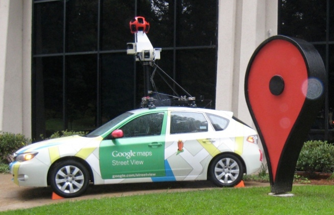 googlestreetviewcar_subaru_impreza_at_google_campus