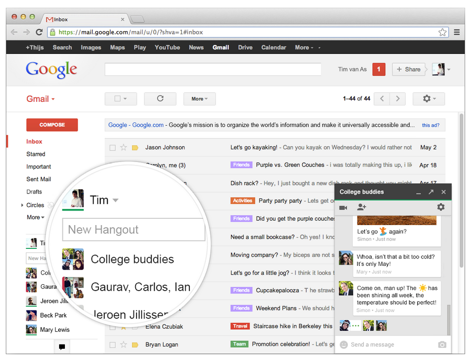 Hangouts-in-Gmail
