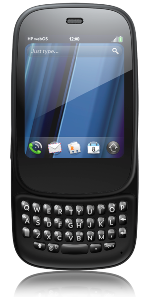 HP's ill-fated Veer WebOS smartphone