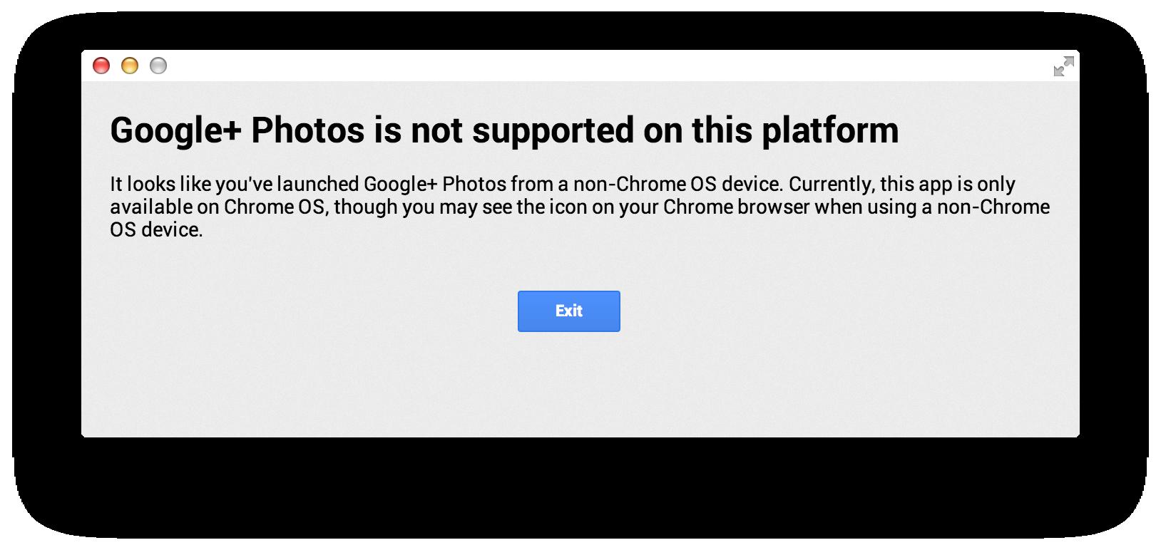 Google+Photos-app-error