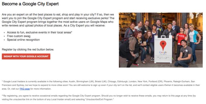 Google launches new City Experts program, trades merchandise