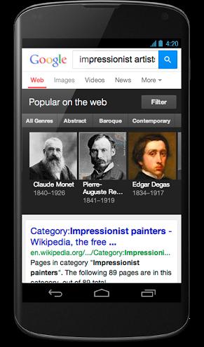 Nexus 4 - Impressionist Artists