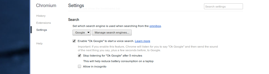Ok-Google-chromium