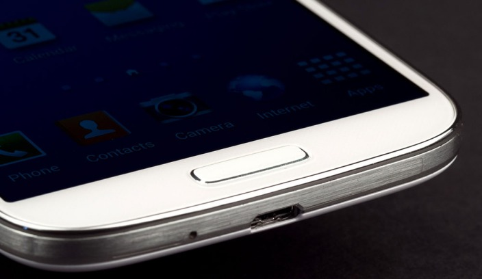 The fingerprint sensor is said to be embedded in the home button