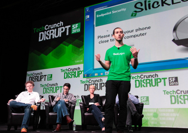 SlickLogin launching at TechCrunch Dusrupt five months ago