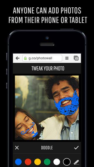 Google's new Photowall app turns your Chromecast-connected TV into a