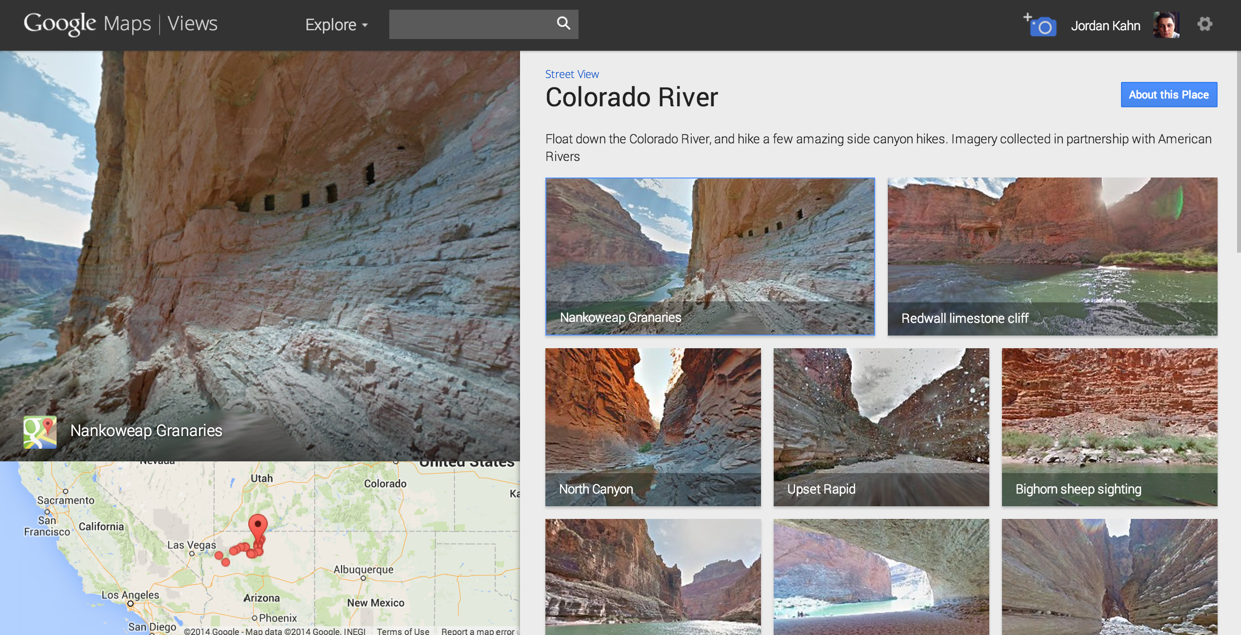Street-View-Colorado-River
