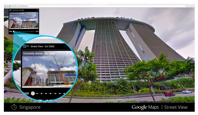 Google-Maps-Street-View-Time-Machine