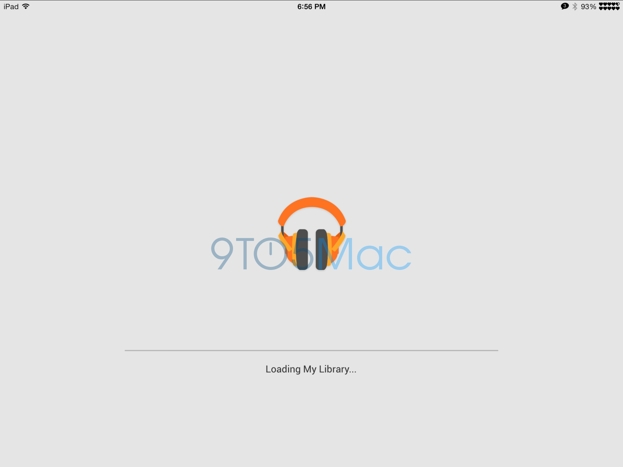 Google Play Music iPad app hidden inside iPhone version