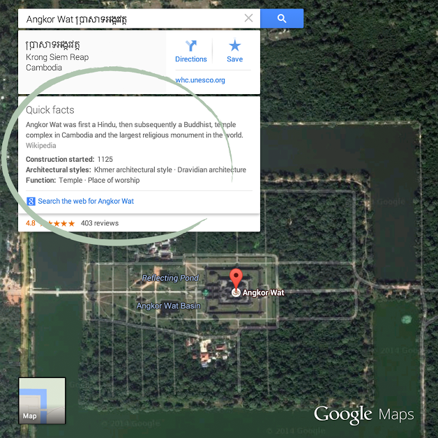 Google Maps' 'quick facts' wants to be your virtual tour