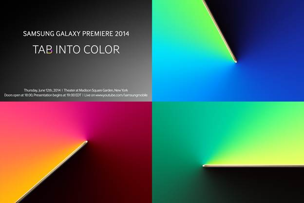 Samsung Tab-color