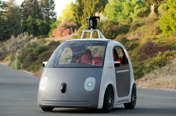 Self-Driving-Prototype-Google-Car