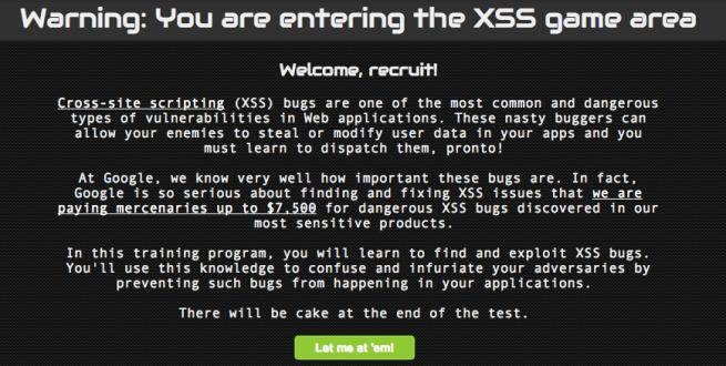 XSS-Game