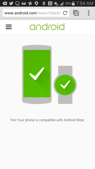 Android-Wear-Checker