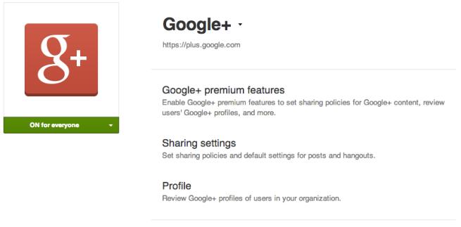 Google+-Premium