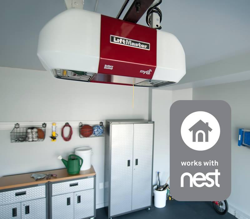 Liftmaster-garage-door-Nest
