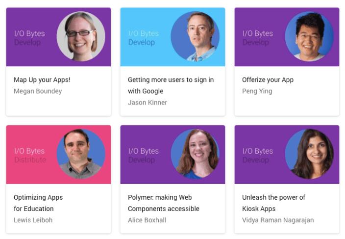 Google I/O staff 2014