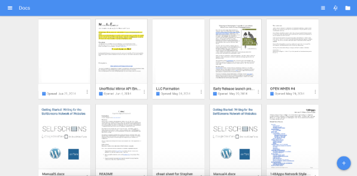 Google Starts Incorporating Material Design On Docs Web Pages 9to5google