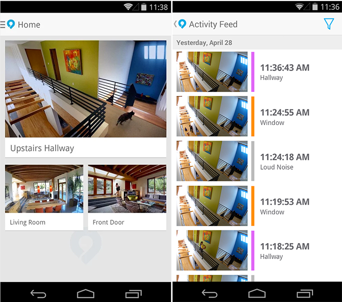 Dropcam App Android