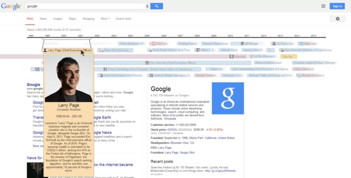 Google-Timeline