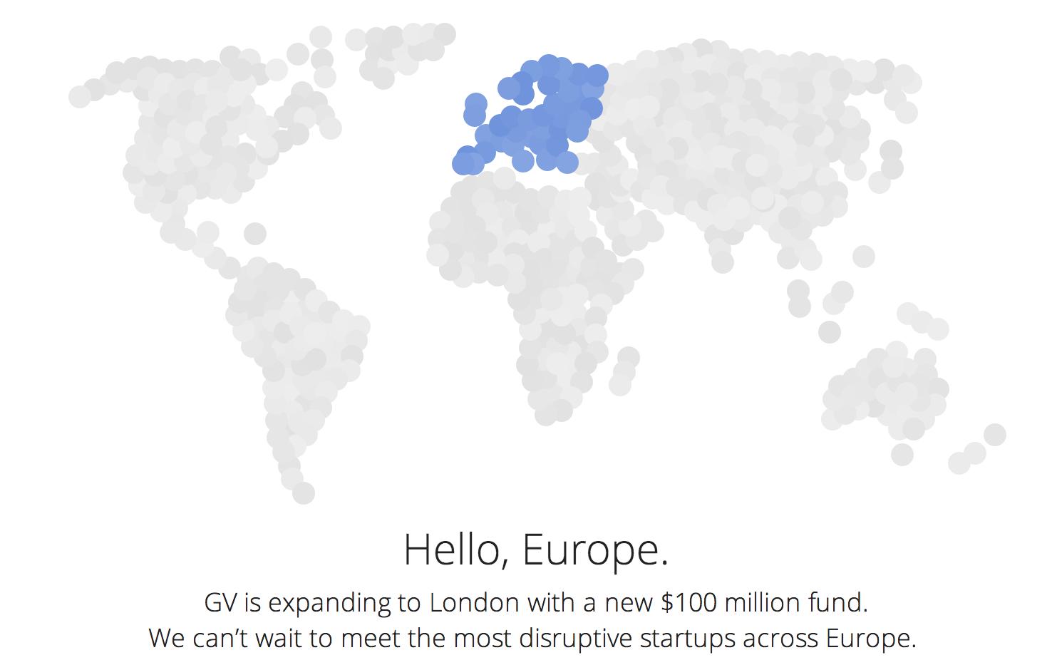 Google-Ventures-Europe