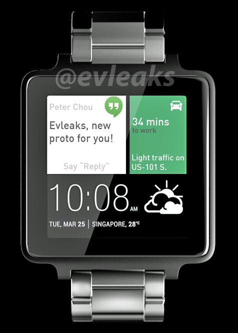 HTC Android Wear Evleaks