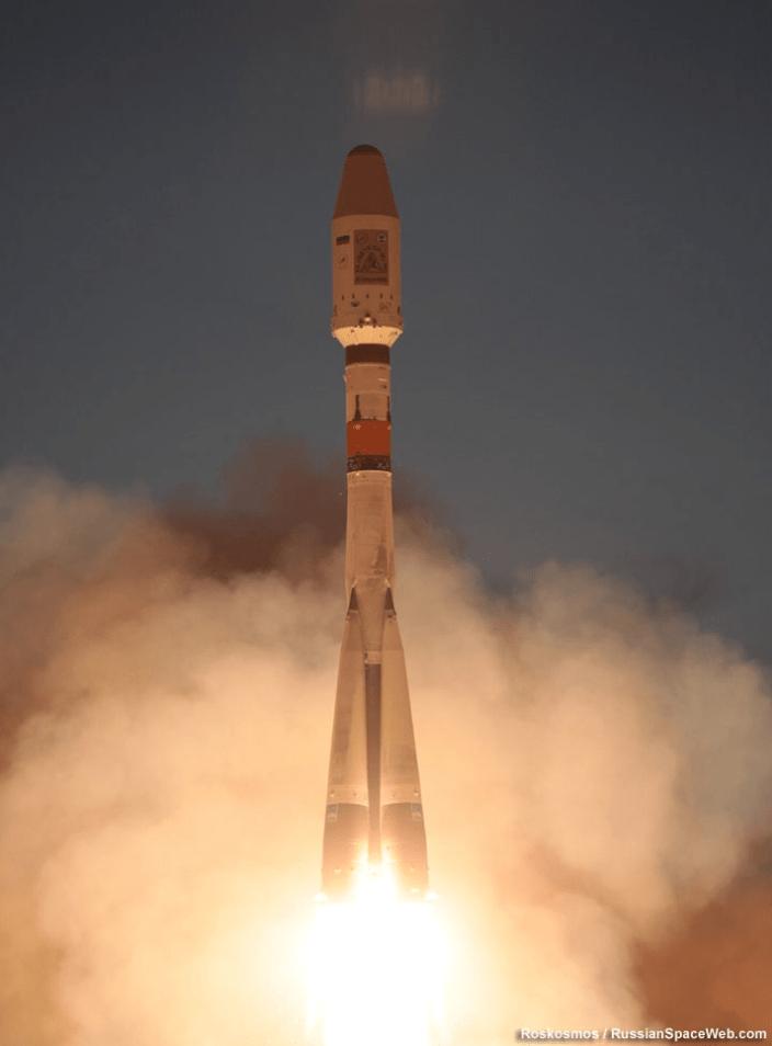 Soyuz image by Roskosmos