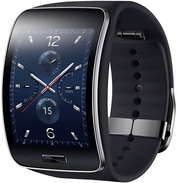 Samsung Gear S Blue-Black