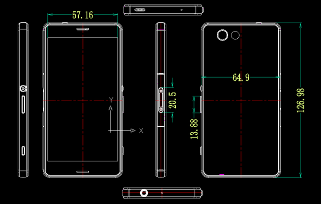 Autocad Renderings Of Sony Xperia Z3 And Compact Revealed Seken