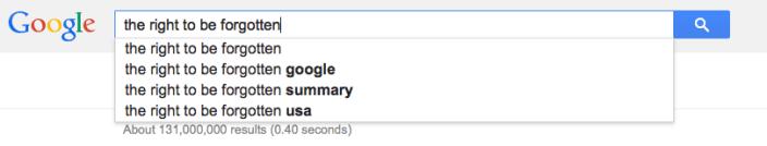 googlel right to be forgotten