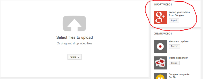 YouTube-G+