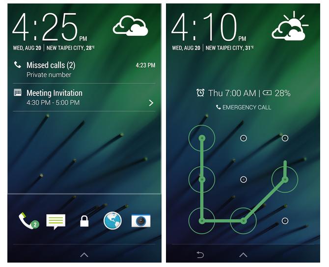 HTC-Lock-Screen