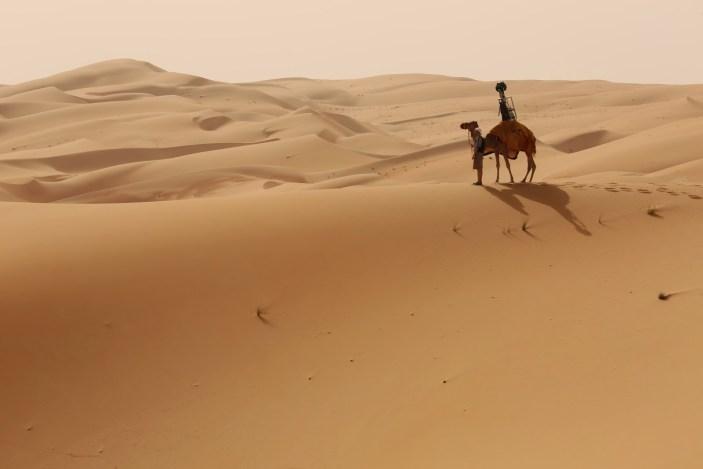 Liwa desert street view trekkor