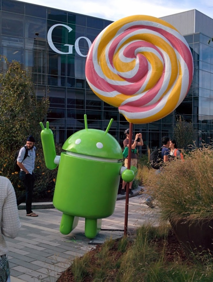 Android-lolliopop-google-campus-statue