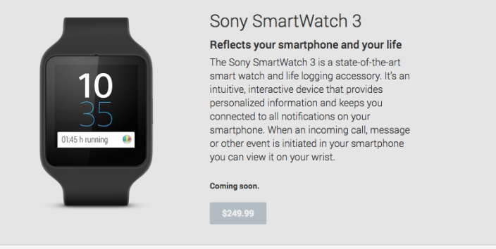 Sony-watch
