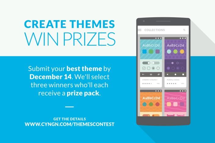 Cyanogen Themes Contest