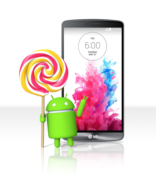 LG G3 Android Lollipop