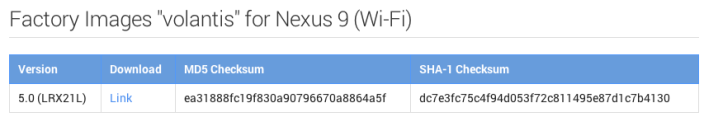 Nexus-9-factory-image