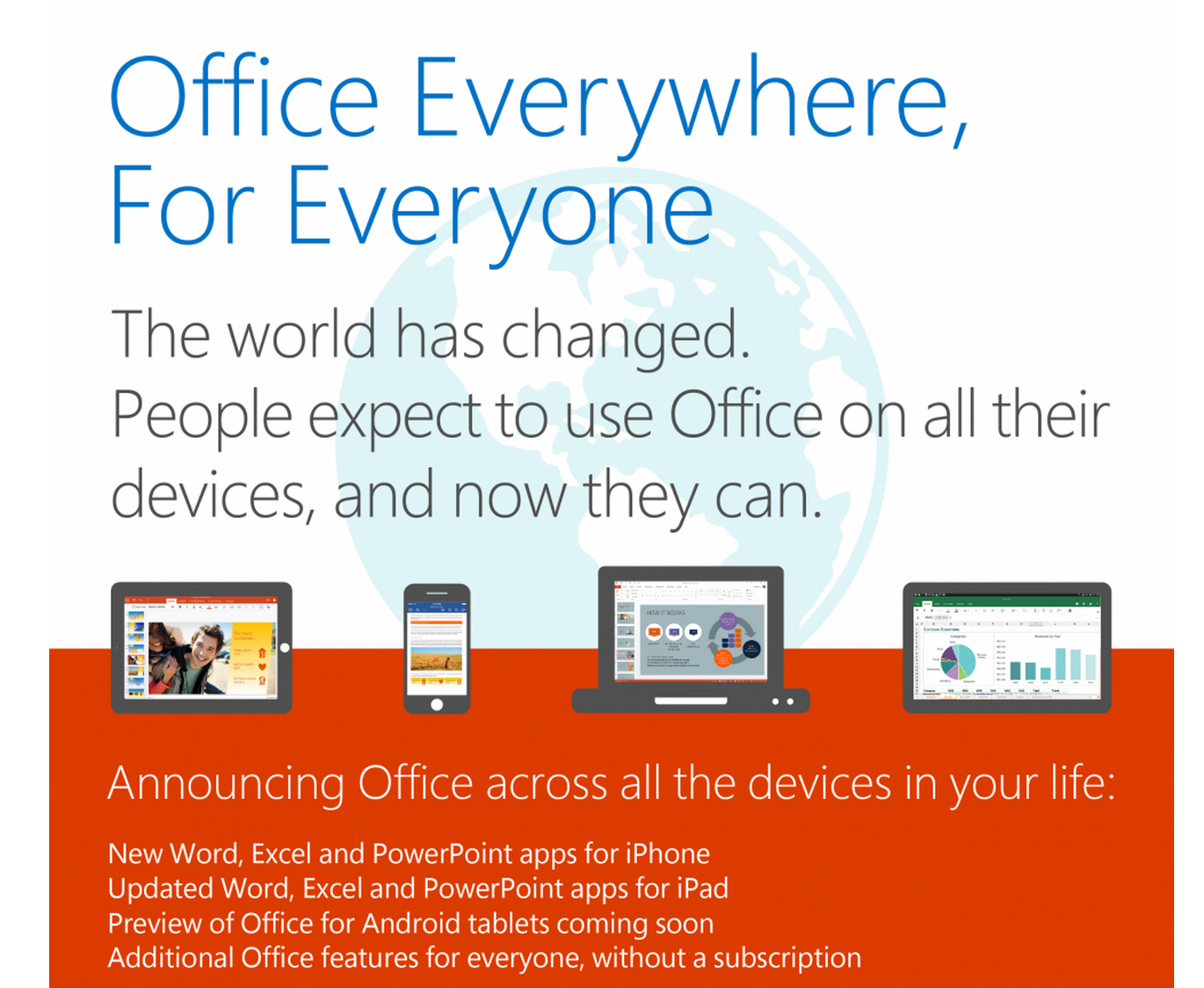 Microsoft launches preview of Office for Android tablets, sign-up now