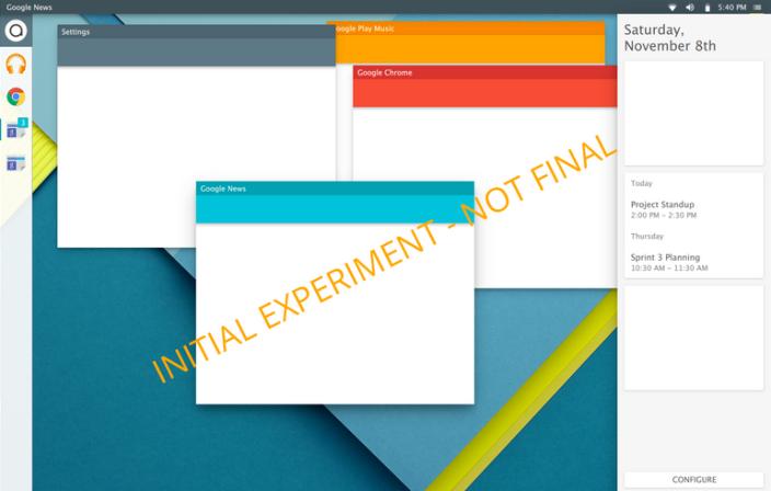 Quartz OS Material Design Android