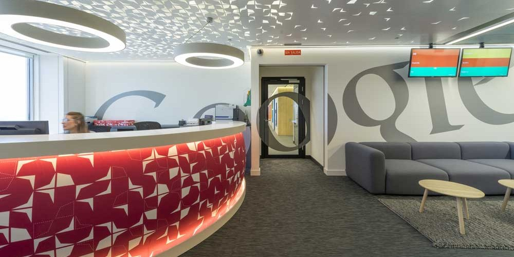 Google's Madrid offices