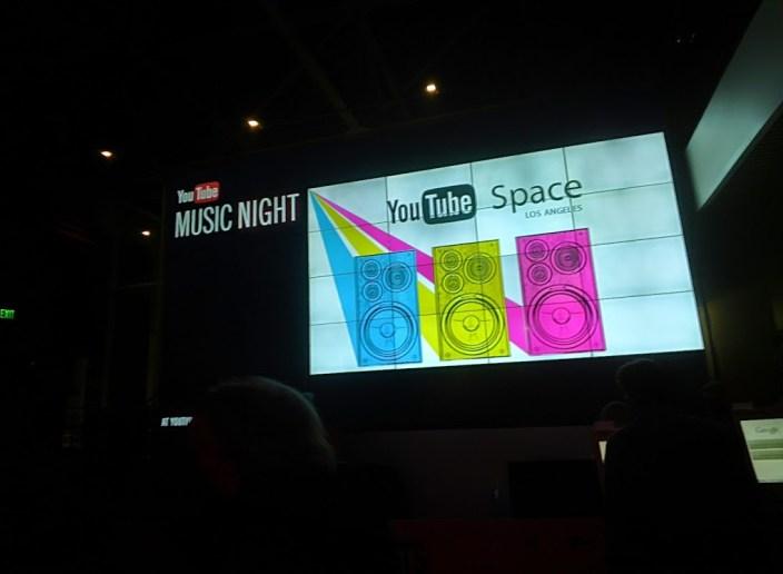 YouTube Music Night