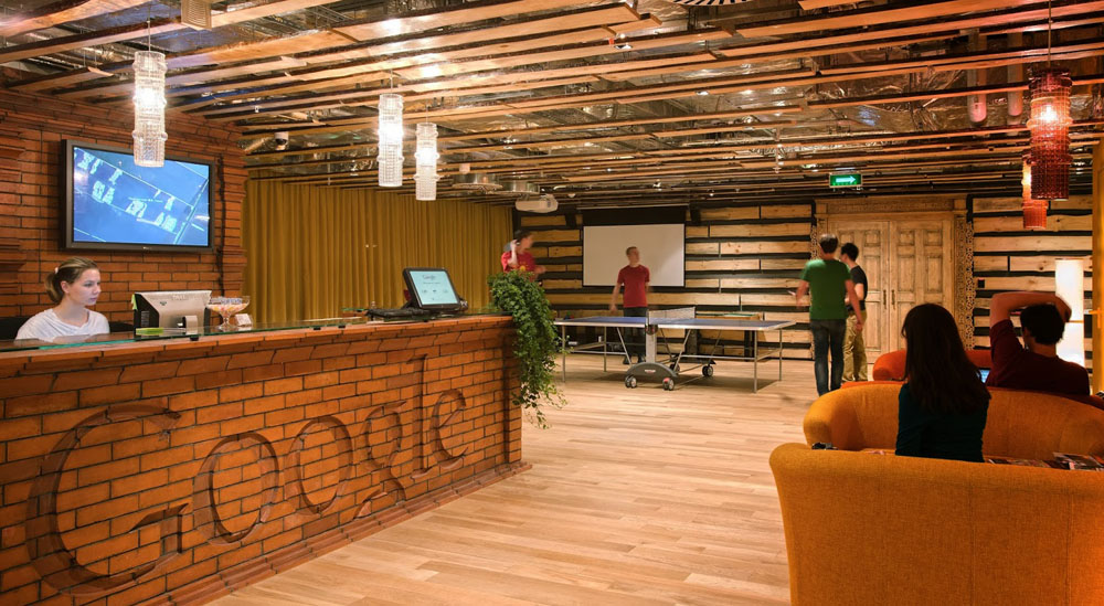 Google's Moscow offices